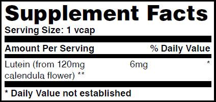 Резултат с изображение за HAYA LABS Lutein 6mg supplement