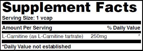 Резултат с изображение за HAYA LABS L-Carnitine 250mg