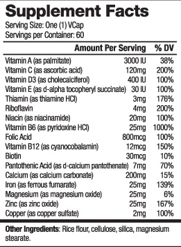 Резултат с изображение за HAYA LABS Prenatal Complete 60 Vcaps. supplements