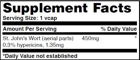 Резултат с изображение за HAYA LABS St. John's Wort 450 mg supplement